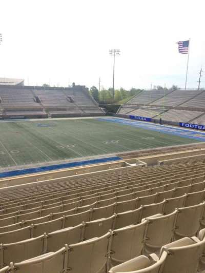 H. A. Chapman Stadium, section: 117, row: 10, seat: 16