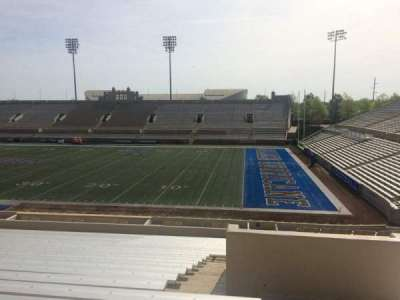 H. A. Chapman Stadium, section: 115, row: 37, seat: 1