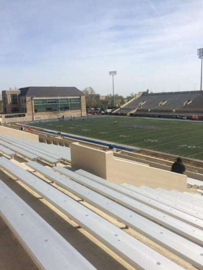 H. A. Chapman Stadium, section: 114, row: 37, seat: 14
