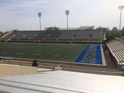 H. A. Chapman Stadium, section: 114, row: 36, seat: 15