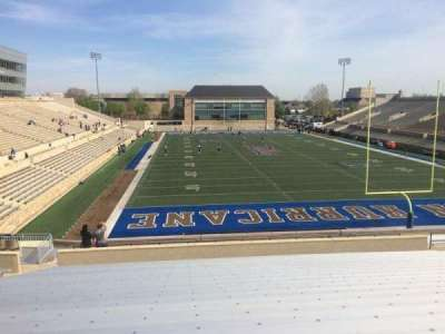 H. A. Chapman Stadium, section: 112, row: 39, seat: 12