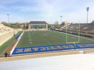 H. A. Chapman Stadium, section: 112, row: 39, seat: 24