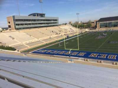 H. A. Chapman Stadium, section: 110, row: 46, seat: 13