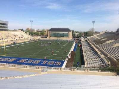H. A. Chapman Stadium, section: 109, row: 45, seat: 27