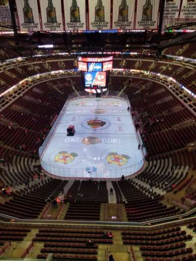 United Center section Pent A
