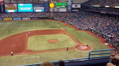 Tropicana Field, section: 311, row: E, seat: 17