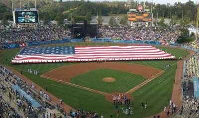 Dodger Stadium, section: 3TD
