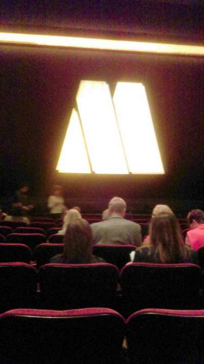 Pantages Theatre (Hollywood), section: Orchestra, row: J, seat: 111/112