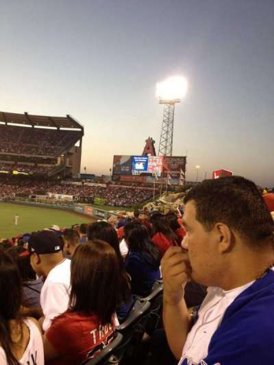 Angel Stadium, section: P237, row: L, seat: 4