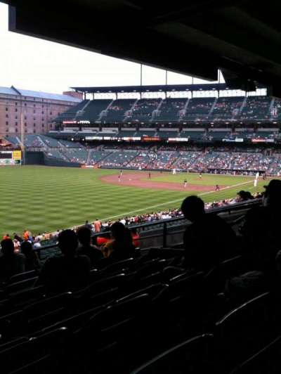 Oriole Park at Camden Yards, section: 71, row: 7, seat: 10