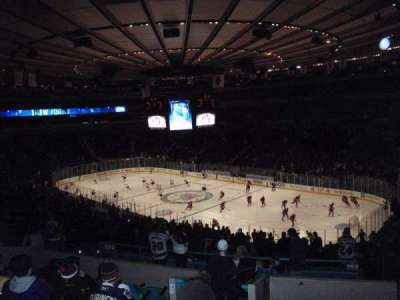 Madison Square Garden, section: 303, row: H, seat: 2