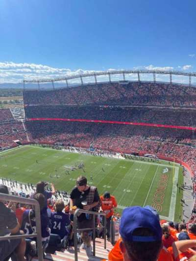 Empower Field at Mile High Stadium, section: 539, row: 25, seat: 25