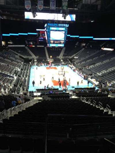 Philips arena, section: 220, row: E, seat: 5