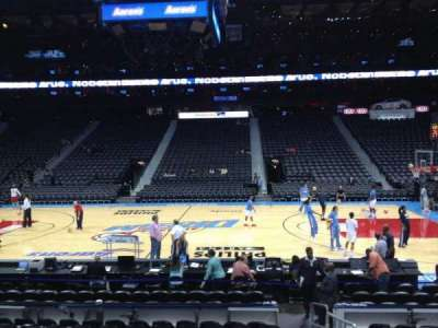 Philips arena, section: 115, row: L, seat: 1