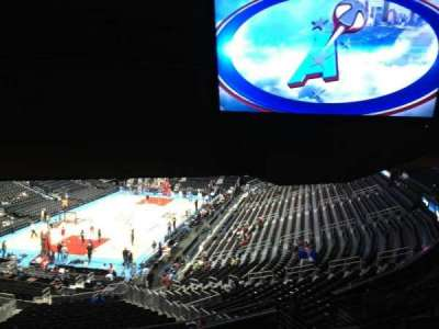 Philips arena, section: 216, row: J, seat: 2