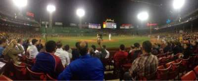 Fenway Park, section: Field Box 45, row: C, seat: 1