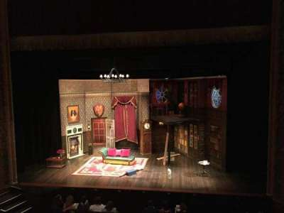 Lyceum Theatre (Broadway), section: Mezzanine, row: A, seat: 103