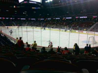 Scotiabank Saddledome, section: 102, row: 11, seat: 11