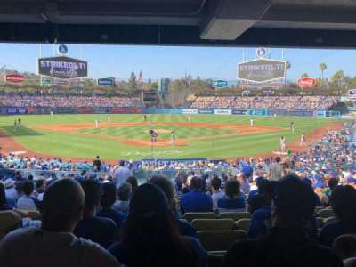 Dodger Stadium section 2DL