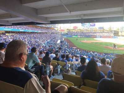 Dodger Stadium, section: 2DL, row: DR, seat: 2