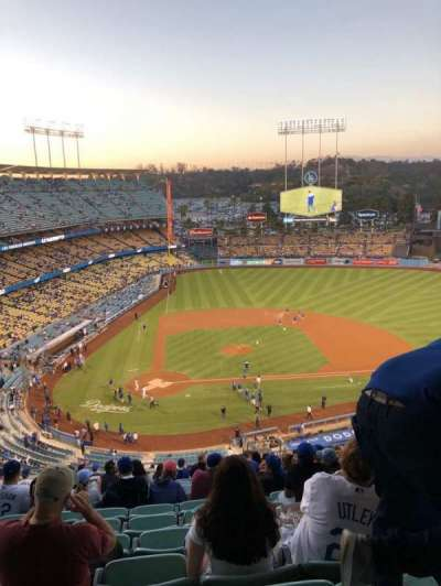 Dodger Stadium, section: 8RS, row: S, seat: 19