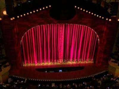 Shubert Theatre, section: Center Balcony, row: Row B, seat: 111-112