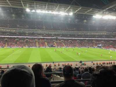 Wembley Stadium, section: 124, row: 40, seat: 41