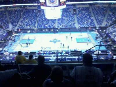 Smoothie King Center, section: 316, row: 8, seat: 4