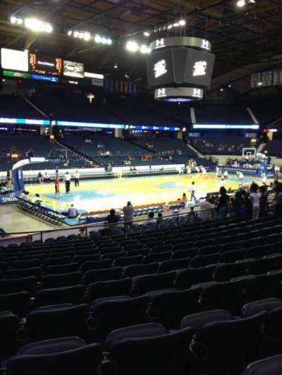 Allstate Arena, section: 113, row: N, seat: 23