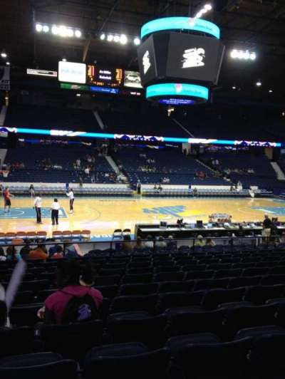 Allstate Arena, section: 111, row: N, seat: 21