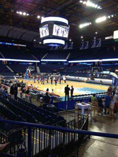 Allstate Arena, section: 108, row: F, seat: 15