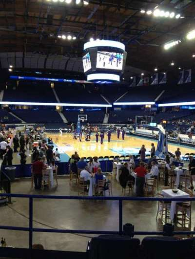 Allstate Arena, section: 107, row: H, seat: 17