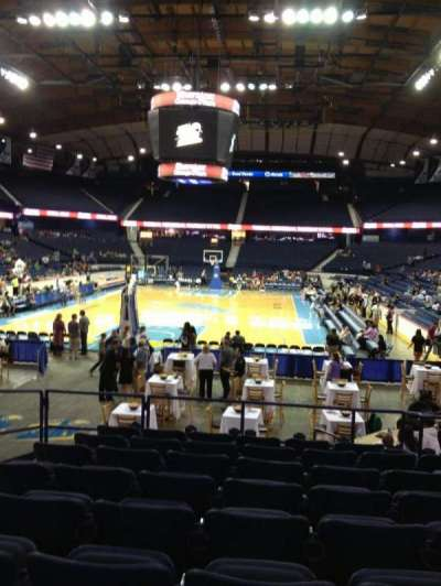 Allstate Arena, section: 106, row: L, seat: 15