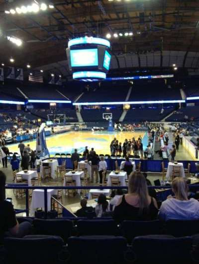 Allstate Arena, section: 106, row: H, seat: 6