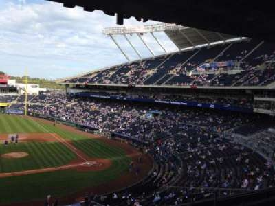 Kauffman Stadium section 308