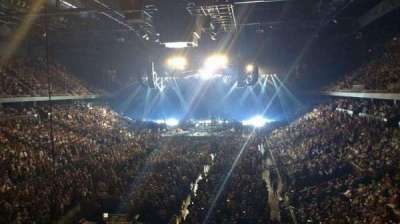 Citizens Business Bank Arena, section: 209, row: A, seat: 19