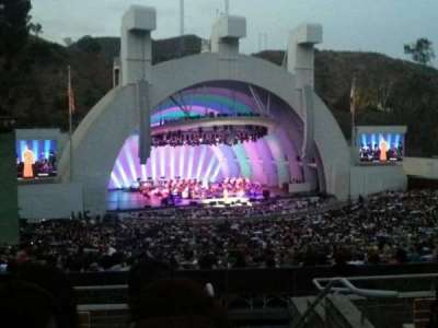 Hollywood Bowl, section: K2, row: 6, seat: 101