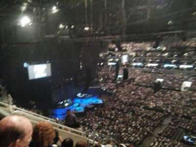 Staples Center, section: 316, row: 8, seat: 20