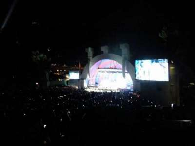 Hollywood Bowl, section: L3, row: 1, seat: 32