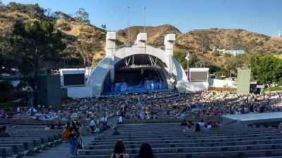 Hollywood Bowl, section: J2, row: 21, seat: 43