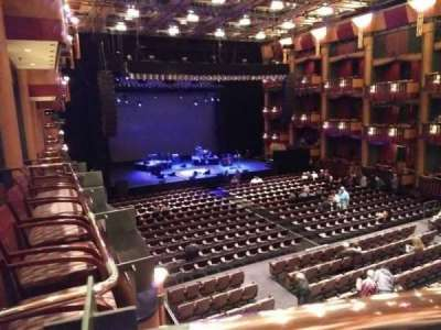 Cerritos Center for the Performing Arts, section: Level 3 / Gold, row: B, seat: 1