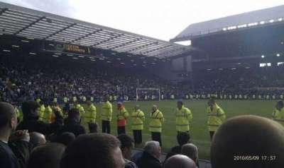 Goodison Park, section: Paddock, row: 7, seat: 95