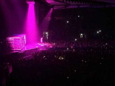 Metro Radio Arena, section: 218, row: U, seat: 434