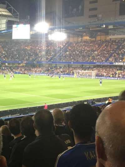 Stamford Bridge, section: West stand lower, row: 31, seat: 190
