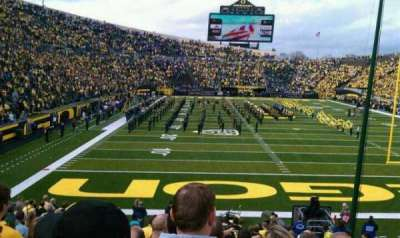 Autzen Stadium section 22