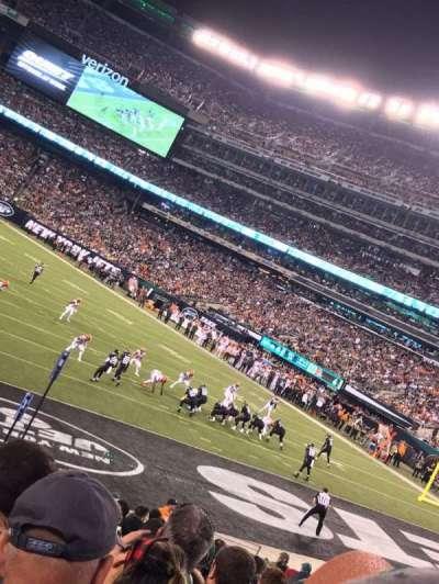 MetLife Stadium, section: 104, row: 18, seat: 16