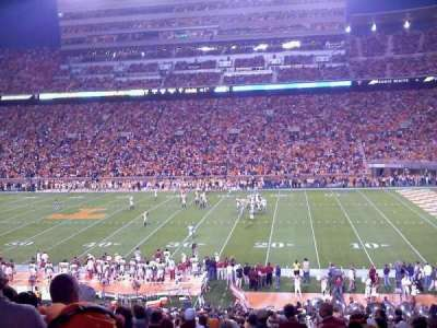 Neyland Stadium, section: B, row: 39, seat: 2