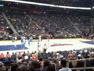 Philips Arena, section: 117, row: Q, seat: 6