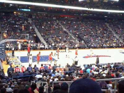 Philips Arena, section: 117, row: Q, seat: 5