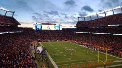 Sports Authority Field at Mile High, section: 326, row: 8, seat: 13